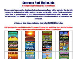 supreme-surf-mailer.info screenshot