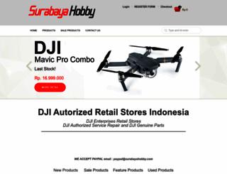 surabayahobby.com screenshot