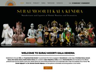 surajmoortikalakendra.com screenshot