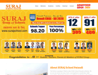 surajschoolpataudi.com screenshot