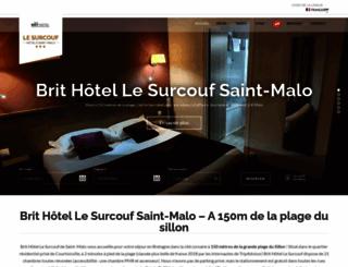 surcoufhotel.com screenshot