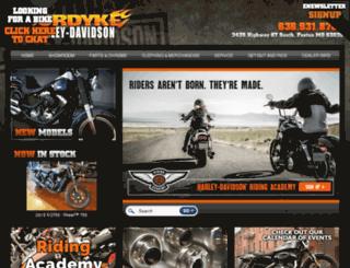 surdykeharley.com screenshot