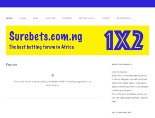 surebets.com.ng screenshot