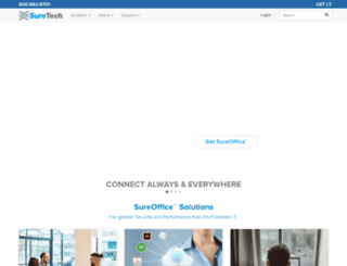 suretech.com screenshot