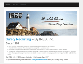 suretyrecruiter.com screenshot