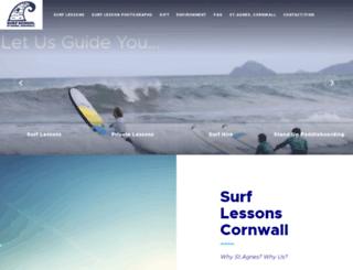 surf-lessons.co.uk screenshot