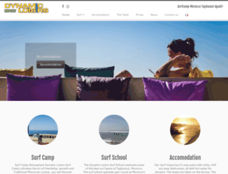 surf-maroc.com screenshot