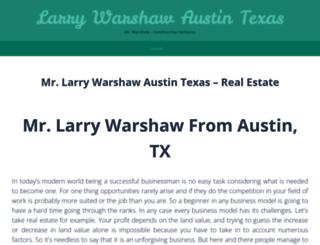 surf.larrywarshawaustintexas.wordpress.com screenshot