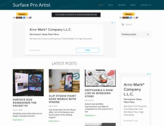surfaceproartist.com screenshot