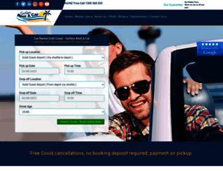 surfersrentacar.com.au screenshot