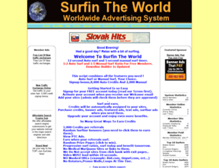 surfintheworld.com screenshot