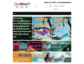 surfkeppler.de screenshot