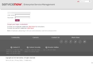 surftemp.service-now.com screenshot