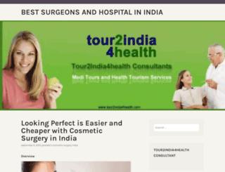 surgeonsandhospitalsofindia.wordpress.com screenshot