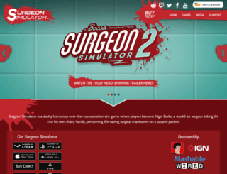 surgeonsimulator2013.com screenshot