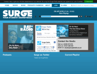 surgeradio.co.uk screenshot