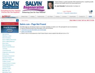 surgical-instruments.salvin.com screenshot