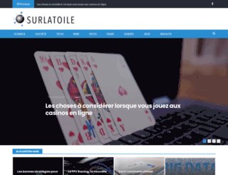 surlatoile.org screenshot
