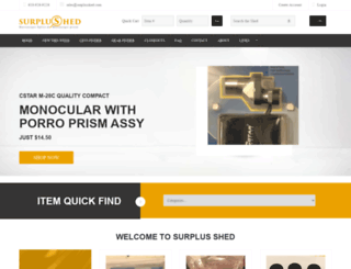 surplusshed.com screenshot