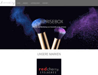 surprisebox.ch screenshot