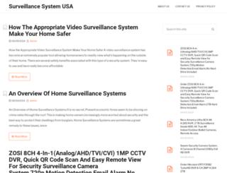 surveillancesystemusa.com screenshot