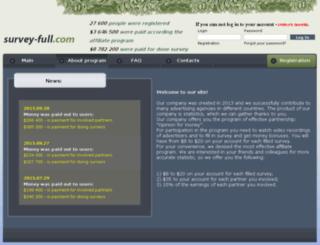 survey-full.com screenshot