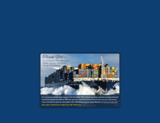 survey-global.cma-cgm.com screenshot