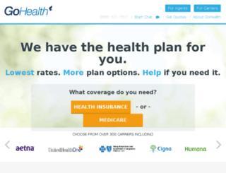 survey.gohealthinsurance.com screenshot