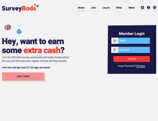 surveybods.com screenshot