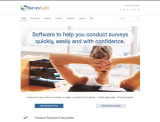 surveygoldsolutions.com screenshot