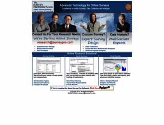 surveypro.com screenshot