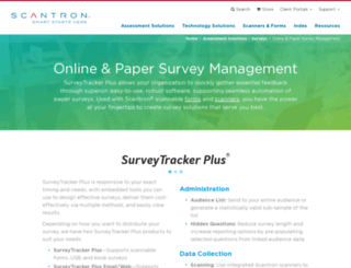 surveytracker.com screenshot