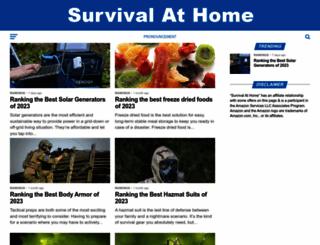 survivalathome.com screenshot