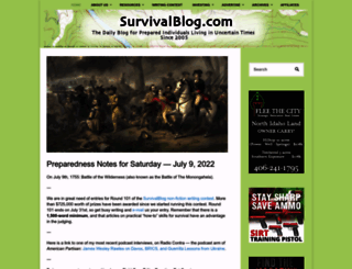 survivalblog.com screenshot