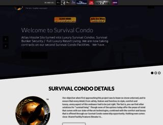 survivalcondo.com screenshot