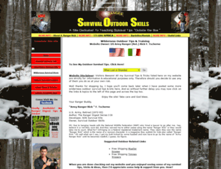 survivaloutdoorskills.com screenshot