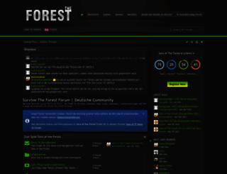 survivetheforest.net screenshot