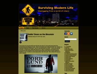 survivingmodernlife.com screenshot