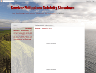 survivor-philippines-celebshowdown.blogspot.com screenshot