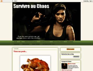 survivreauchaos.blogspot.fr screenshot