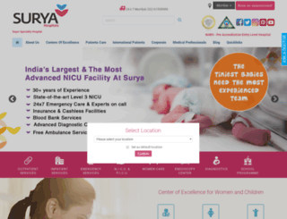 suryachildcare.com screenshot