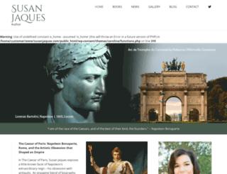 susanjaques.net screenshot