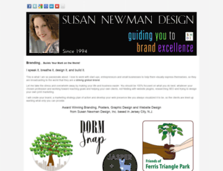 susannewmandesign.com screenshot
