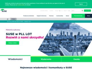 suse.pl screenshot
