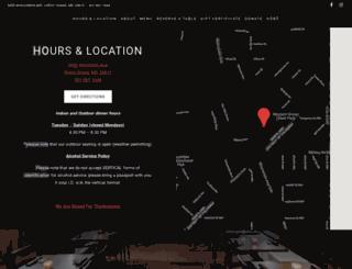 sushikorestaurants.com screenshot