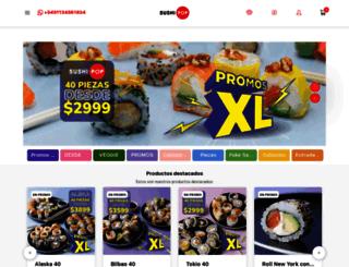 sushipop.com.ar screenshot