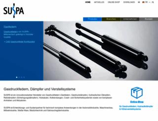 suspa.com screenshot