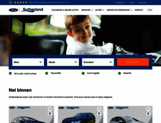 sutherland.nl screenshot