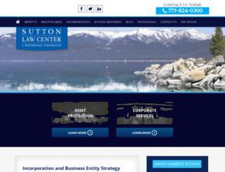 sutlaw.com screenshot