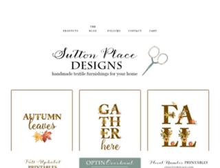 suttonplacedesigns.com screenshot